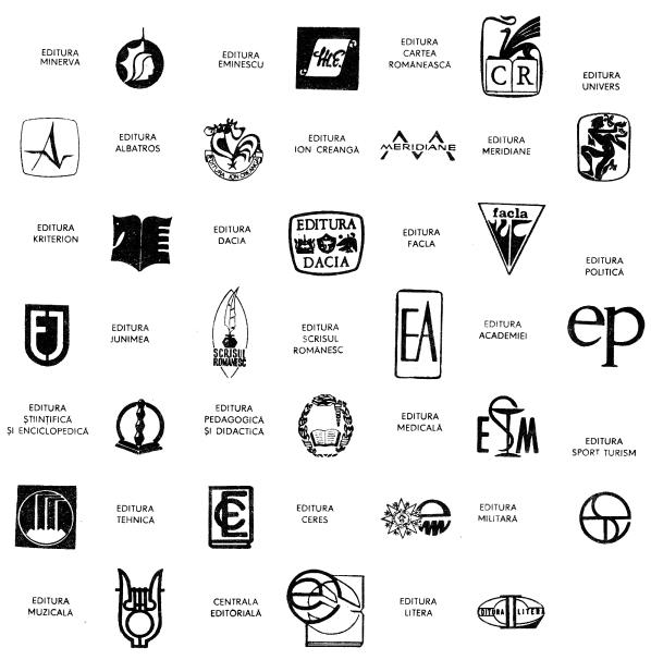 edituri romanesti dinainte 1989